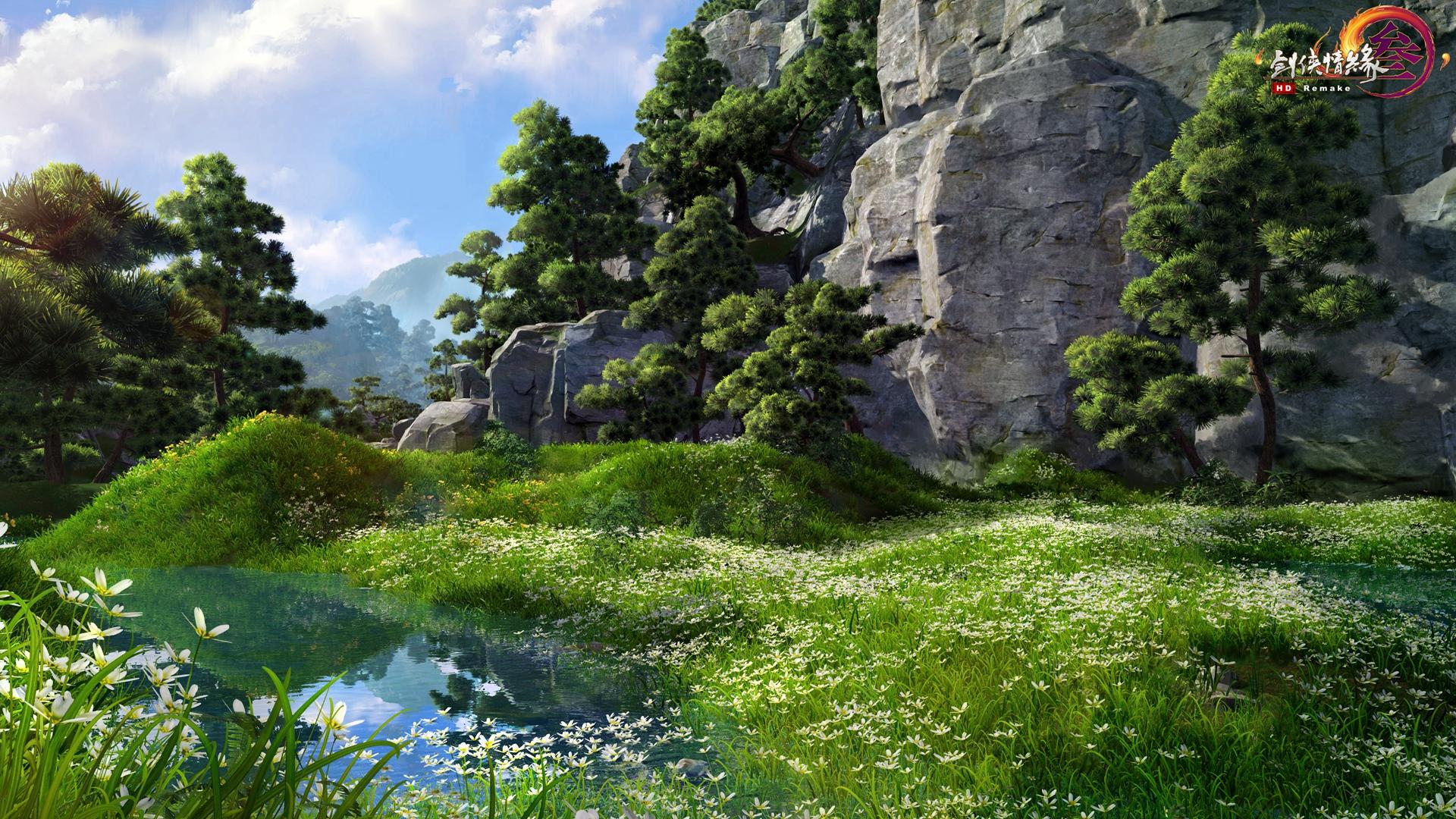 壮阔大美江湖 重制版进阶画质详解 - 剑网3游戏资讯
