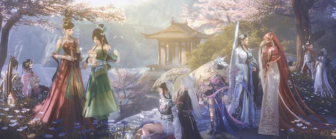 《剑网3》春日盛典今日开启