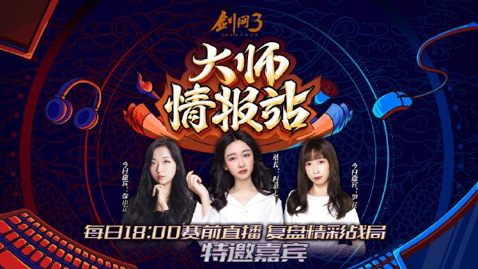 《剑网3》第五届竞技大师赛先导节目-大师情报站