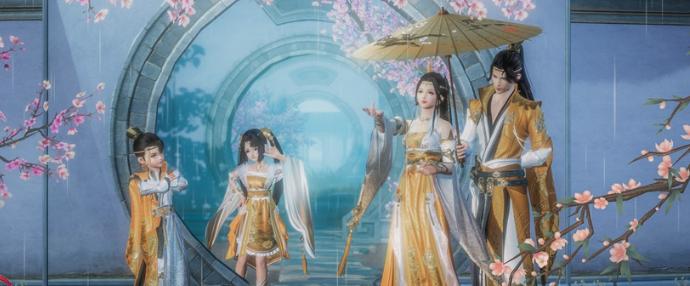 """《剑网3》""""锦绣霓裳""""活动3.0开启(已结束)"""